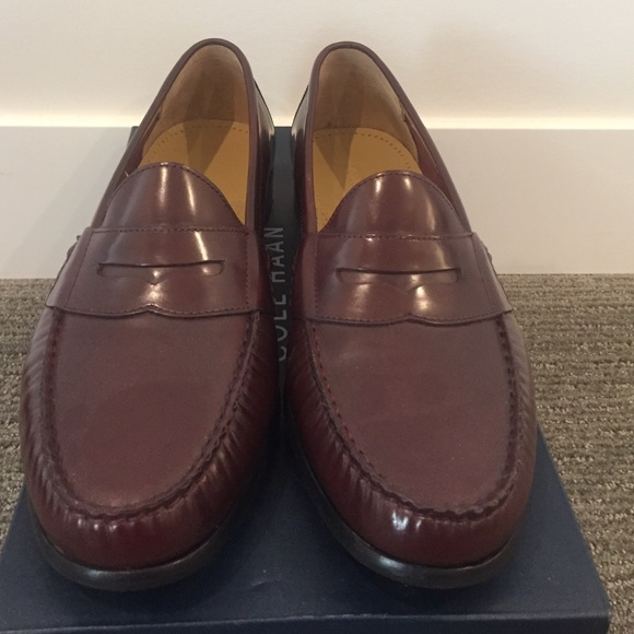 36550c5aca2 Cole Haan cordovan leather penny loafers NWT