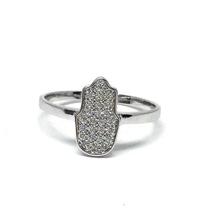 Jewelry - Sterling Silver Crystal CZs Ring