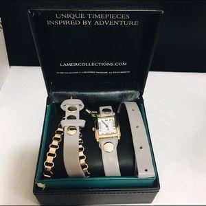 La Mer Collections bracelet watch