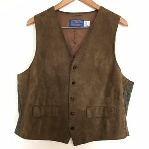 Pendleton Other - Men's vintage suede vest