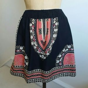 Fire Los Angeles Dresses & Skirts - Beautiful Patterned Skirt