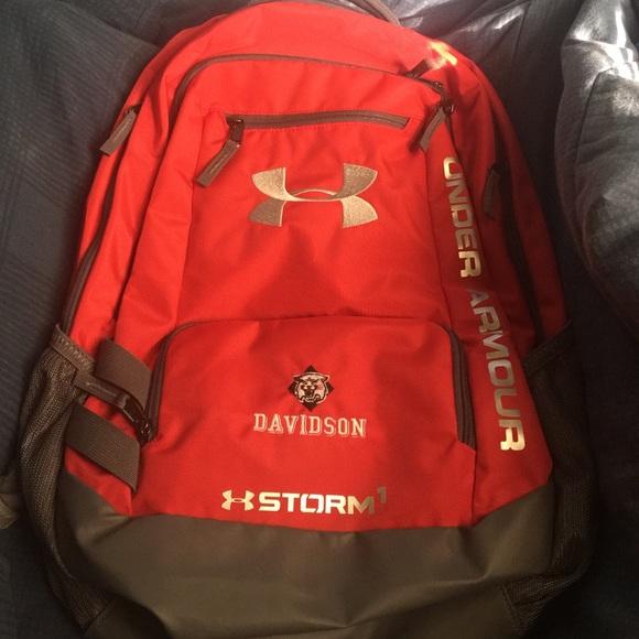 a14d6b3160b8 Under Armour Storm 1 Davidson Backpack. M 582f28935a49d03b7002b8ca
