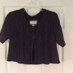 American Eagle Outfitters Sweaters - 2 for $20 AE Charcoal Open Buttoned Poncho