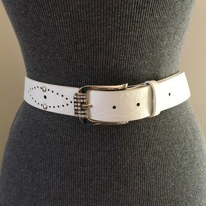"""Accessories - Western Stone and studs Belt Sz 36-40"""""""