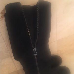 467b674307d Jimmy Choo Shoes - Jimmy Choo knee high flat boots