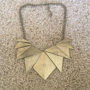 FLASH SALEGold statement necklace