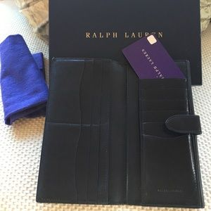 789d417e9a6 Ralph Lauren Purple Label Bags - SALE Ralph Lauren Black Ricky Continental  Wallet