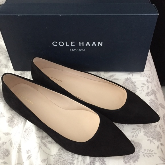 Mainly it's shoes like these Cole Haan ...