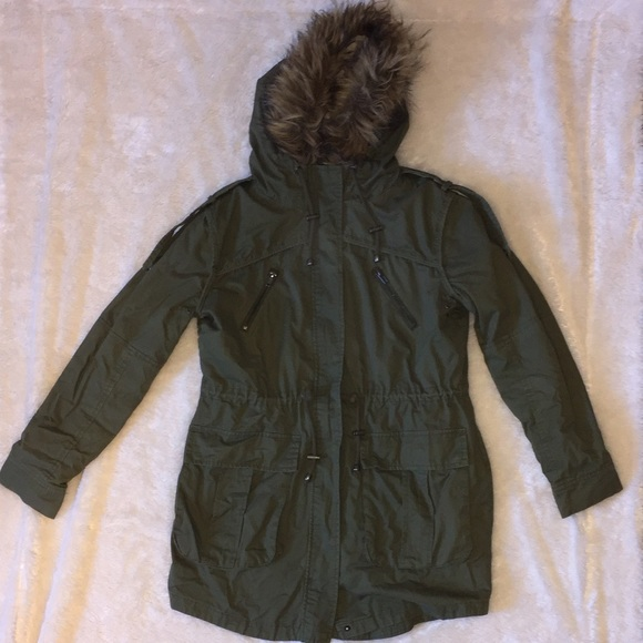 Hunter Green Parka