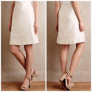 Paper Crown Dresses & Skirts - 🎉HP🎉Anthropologie Shimmered Cressida Skirt