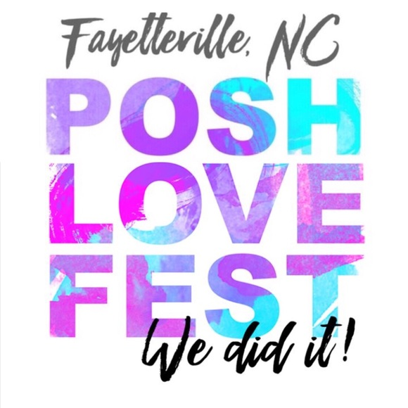 Thank you! PoshLoveFest Fayetteville Meetup