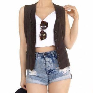 Emporio Armani Jackets & Blazers - Armani brown vest