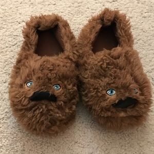Disney Other - The Disney Store toddler boys Chewbacca slippers