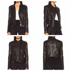  Helmut Lang Blistered Leather Jacket - S