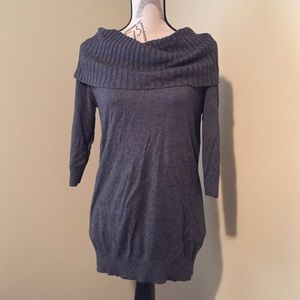 Express wide cowl neck sweater