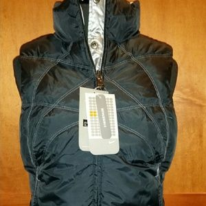 New Nike Reversible Black and Silver Vest Small