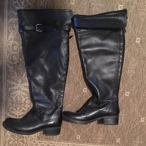 Persona by Marina Rinaldi Shoes - Leather knee high boots