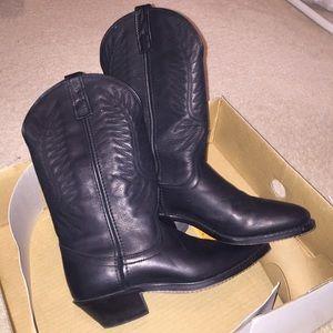 Laredo Shoes - Laredo Western Cowboy Boots Black