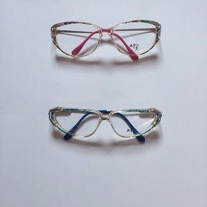 Vintage Italian eyeglasses