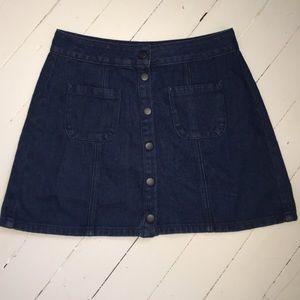 Topshop Dresses & Skirts - Brandy Melville Button Skirt
