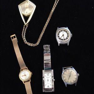 Geneva Platinum Accessories - Lot of 5 fashion watches