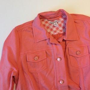 ✨LAST CHANCE Isaac Mizrahi soft jacket