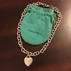 Tiffany & Co. Jewelry - Tiffany & Co Heart Tag necklace