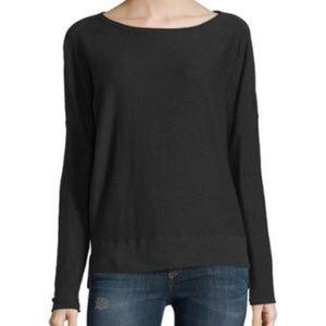 Vince Boat Neck Slub Sweater Size XS