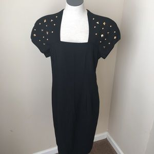 Jessica Howard Dresses & Skirts - Jessica Howard 80's Studded dress