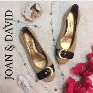 Joan & David Shoes - Joan & David Buckle Flats - Like New