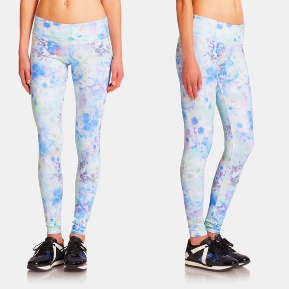 5b2c19d937 ALO Yoga Pants | Airbrush Floral Flower Pastel Leggings | Poshmark