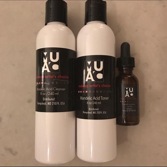 Makeup Artists Choice Makeup Muac Mandelic Acid Skincare Bundle