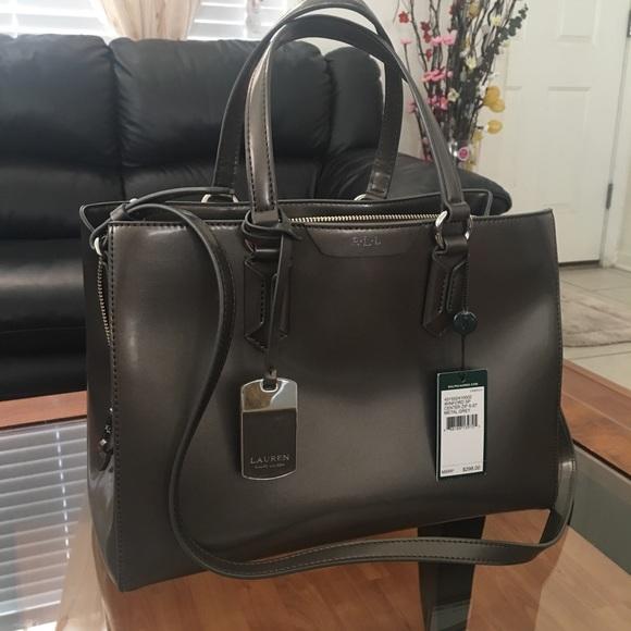 Genuine Patent Leather Lauren by Ralph Lauren Bag b8d5c163556d8