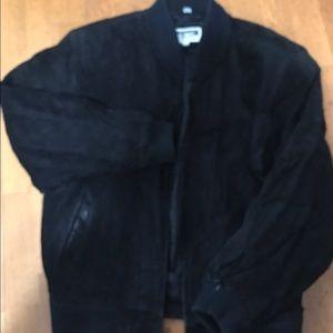 Vintage Suede bomber jacket