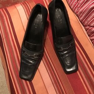 Authentic Gucci Horsebit Slip On Pumps