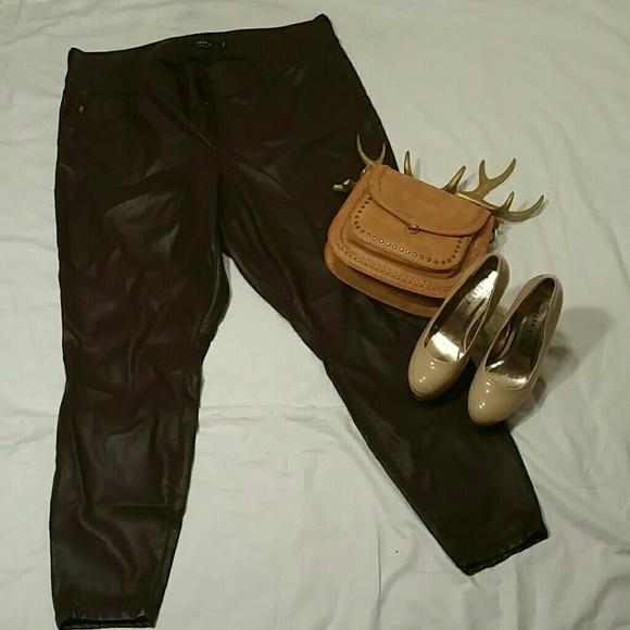 d79c8e7408cb5 Torrid Pants | Premium Faux Leather Jegging | Poshmark