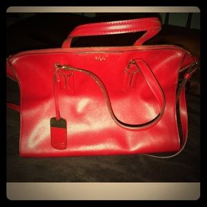 Ralph Lauren Collection Handbag Red
