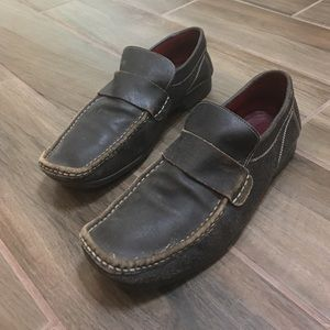 Aldo leather loafer