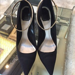 Christian Dior Black Stiletto 40