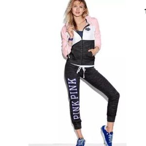 PINK Victoria's Secret Pants - VS Victoria's Secret pink gym pant sweats xs
