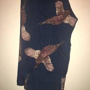 LuLaRoe Pants - Lularoe Cute Pheasant leggings- 🦄 OS
