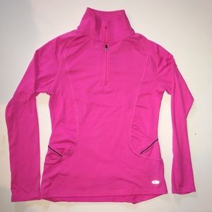 Hot pink work out jacket
