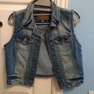 Wallflower Jean Vest.