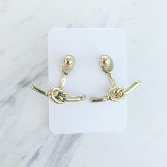 Pineapple.PalmBeach Jewelry - ❗one left❗Love Knot Ear Jackets
