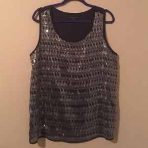 NWOT Coldwater Creek Sequined Top