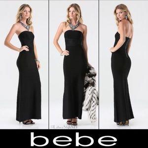 Bandage Maxi Bebe dress