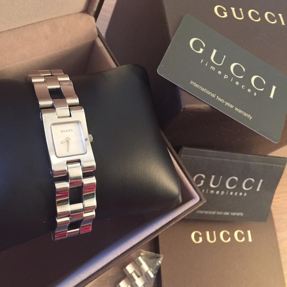 d063a5750f0 Gucci Accessories - Gucci Luxury Silver Stainless steel watch 2305L