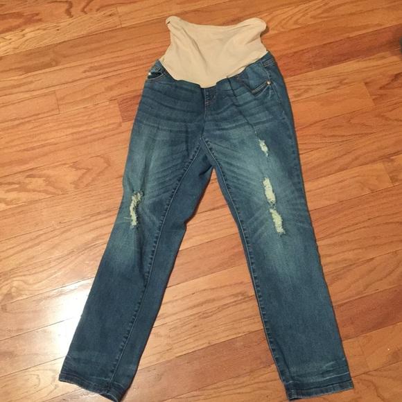 Indigo Blue - Indigo Blue (Motherhood Maternity) skinny jeans from ...