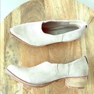 Zadig & Voltaire Shoes - New Zadig Voltaire Parke Bootie Nude Suede 36