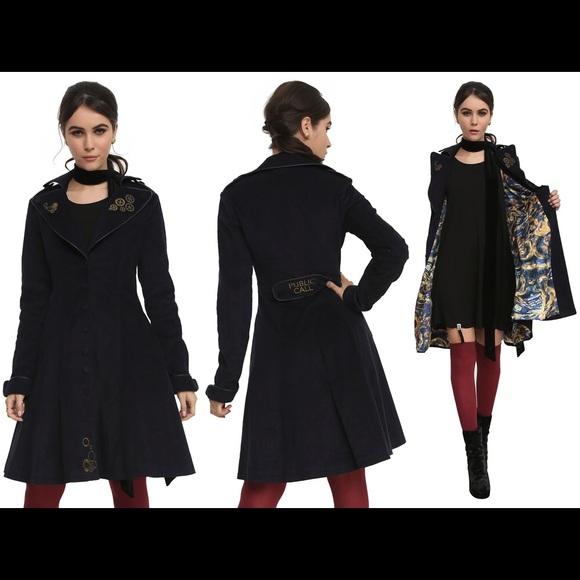 662fd51398acb Hot Topic Jackets   Blazers - Doctor Who Tardis Coat
